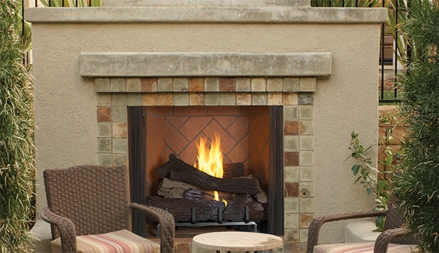 Outdoor Fireplace in Little Rock, AR
